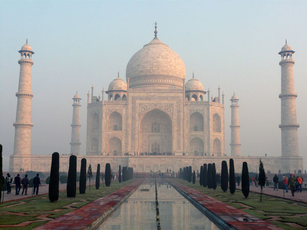 Taj Mahal, get up early Architecture Famous Place Historic History