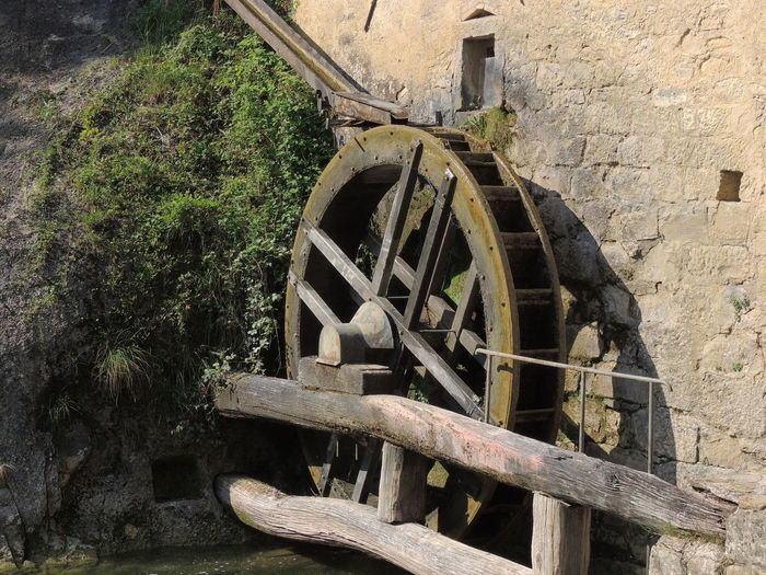 Molinetto Della Croda Day Machinery No People Old-fashioned Outdoors Wagon Wheel Water Wheel Watermill Wheel Wood - Material