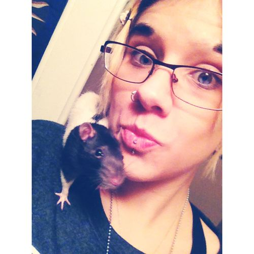 Weirdo Cute Ghoul Self Portrait Rat Oogieboogie My Baby Furbaby Pets Happiness Love Feeling Good