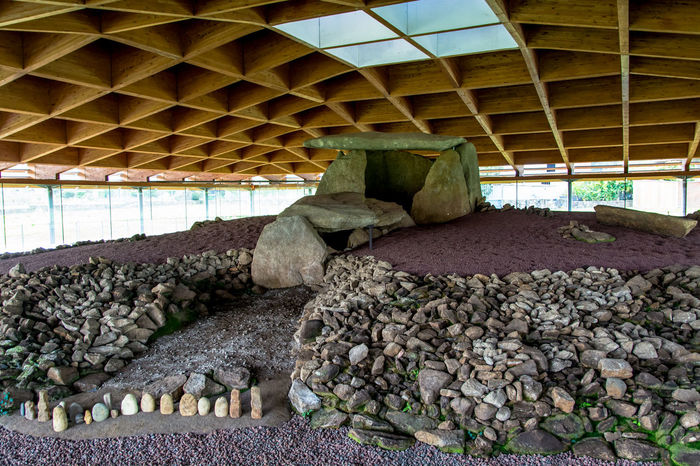 Ancient Ancient Architecture Ancient Civilization Ancient Culture Archeological Complex Archeology Architecture Built Structure Day Dolmen Dombate Exhibition Funerary Galicia, Spain Indoors  Megalithic Monument No People Old Prehistoric Rocks Stones