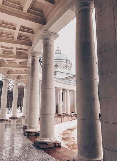 Architectural Column Architecture Built Structure No People History The Past Day Building Nature In A Row Ancient Outdoors Building Exterior Old Pattern Arcade Sunlight Sky Travel Destinations Colonnade
