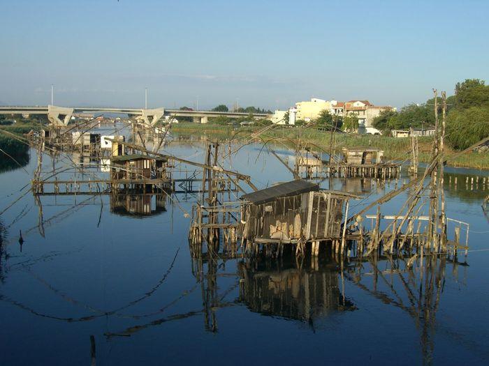 Boat Connection Mode Of Transport Reflection River Transportation Water Waterfront Fisherfolk Gillnet Pisciculture