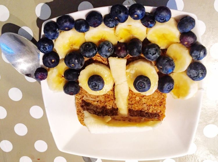 Weetabix cereal with bananas and blueberries for breakfast Weetabix  Blueberries Banana Cereal Breakfast Food Food Porn Foodphotography Itsfoodporn Itsfood Northampton Uk United Kingdom