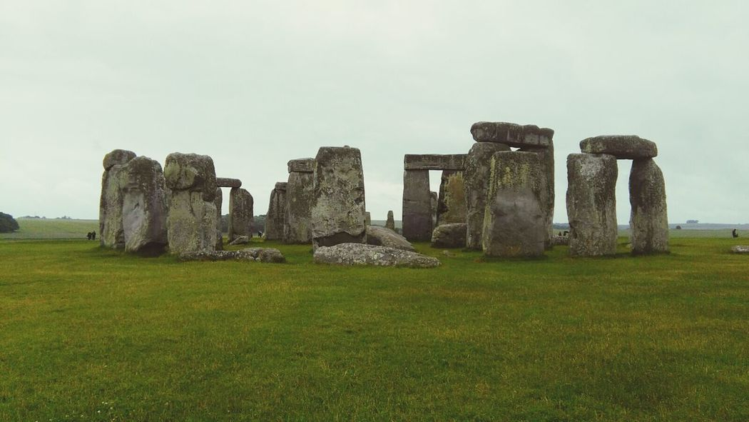 Stonehenge England Nature Old Ruin Ancient History Ancient Civilization Outdoors Sky Day Ancient History Grass