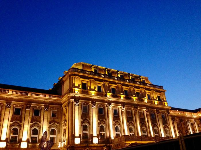 City Architecture Building Exterior Built Structure Sky Night Clear Sky Travel Destinations Illuminated No People Outdoors Budapest Budapest, Hungary Budapestagram Budapest Love Budapest Streetphotography Buda Castle Budapestarchitecture Budapest View Budapest Castle Budapestbynight Buda First Eyeem Photo