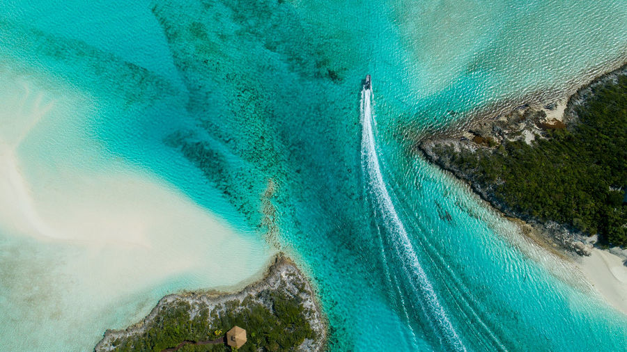 Pipe Cay-Exumas Bahamas Aerial Shot Travel Destinations Exuma Cays Water Tree Sea Wave Beach UnderSea Aerial View Mountain Nautical Vessel High Angle View Turquoise Sandy Beach Yachting Seascape Coastline Yacht Shore