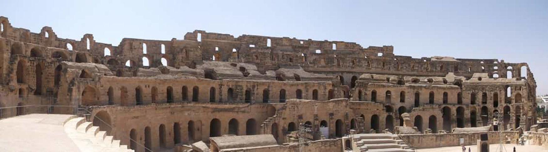 Coliseum El Jem Tunisia