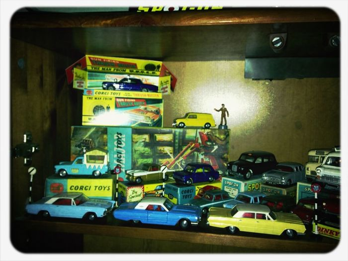 Small part of my vintage die cast collection!!!!