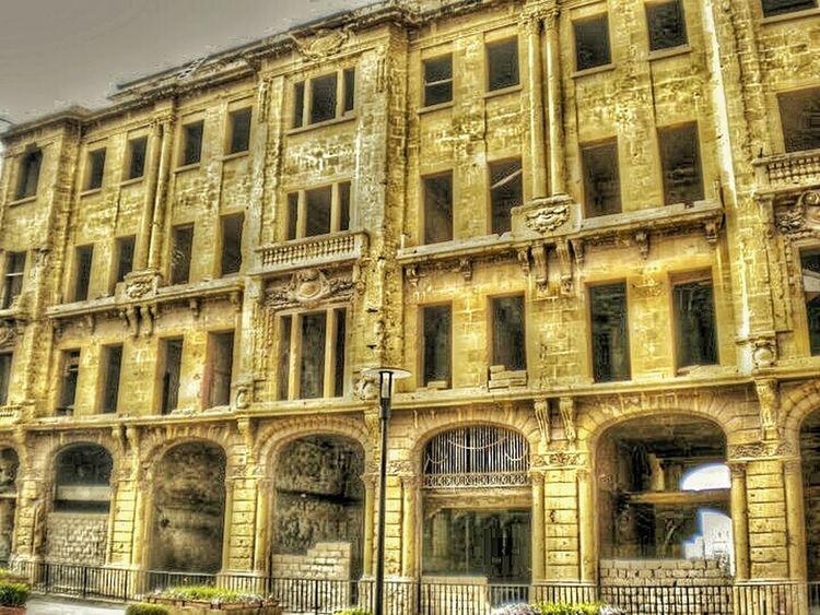 Mobileart Colors History Lebanon Lebanon_tourism Beirut Beirutphotography Beirut Lebanon War BeirutCity Building Building Exterior Structure