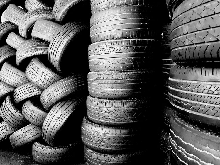Re-Tyred part 2 Pattern Photography Blackandwhite Tyres Stack Large Group Of Objects Full Frame Arrangement No People Backgrounds Indoors