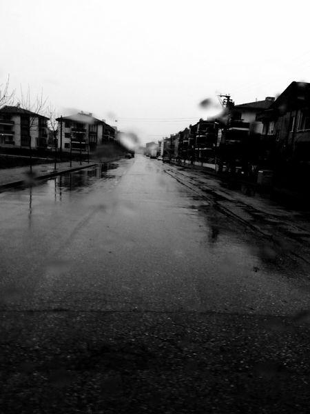 Yağmur Yağınca Gelen Huzur... Black & White First Eyeem Photo