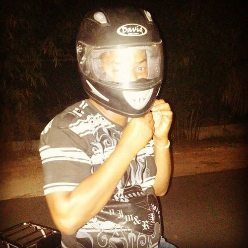 Always ready to ride!!! Safetyfirst Helmethead DRnights Dominicanrepublic Michico
