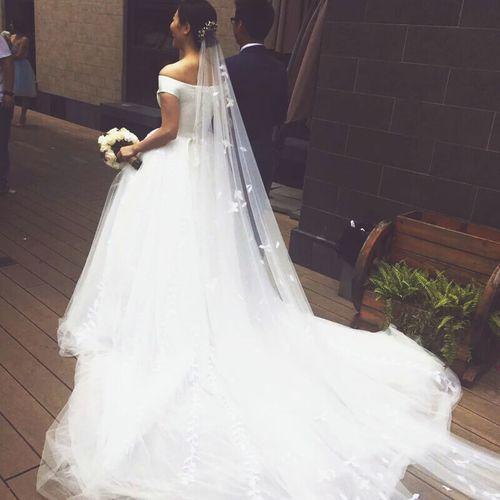 婚纱 结婚 白色