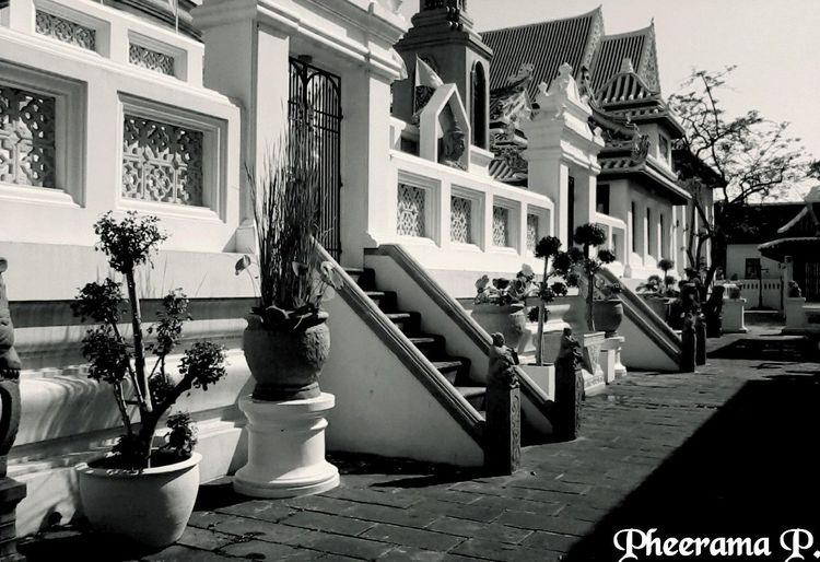 Light&Shadow., Architecture , Thailand_allshots , Walking Around , B&W, Monochrome Urban , Hello World