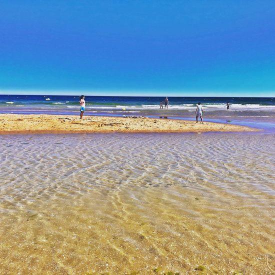 Tranquility Cacela Summer Algarve Beach Sky Sea Land Horizon Horizon Over Water First Eyeem Photo