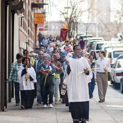 Psalm Sunday in Washingtonheights Inwood Instagramuptown Uptown newyorkcity newyork nyc religion catholic christianity