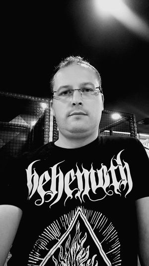 That's Me Blackmetal Behemoth Metalmusic Heavy Metal Metalhead HeadBanger Blackandwhite Blackandwhite Photography