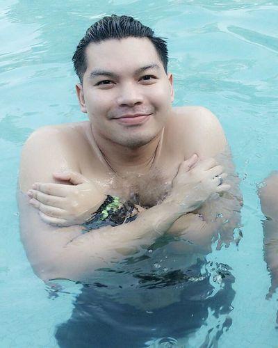 naked! Swimming