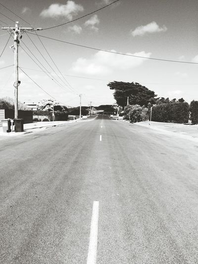 A lonely road, where curiosity awaits. First Eyeem Photo