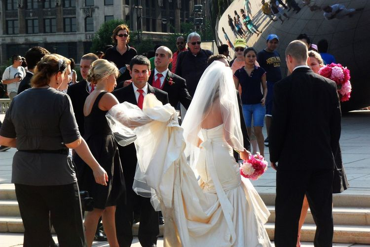 Happily Married :) Chicago Millennium Park Collected Community Urban Lifestyle