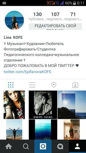 Go Instagram Kofeeschka69 Lina KOFE Kofe