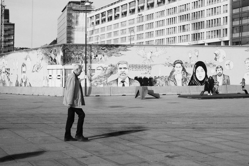 A6300 B/W Photography Nobel Peace Center Nobel Peace Prize Oslo Spring Street Streetphotography