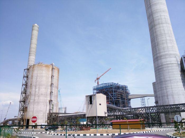Clean Energy Coal Power Plant Coal Power Plant In Construction Construction Site Engineering Engineering Feat Malaysian Coal Power Plant Malaysian Power Plant Massive Buildings