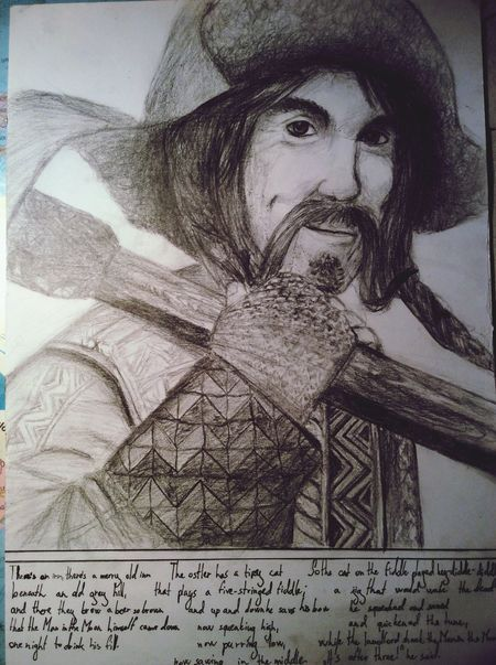 Drawing Bofur The Hobbit Pencil Fantasy Dwarf The Man In The Moon Stayed Up Too Late Art Hobbit The Hobbit: Dwarves' Song