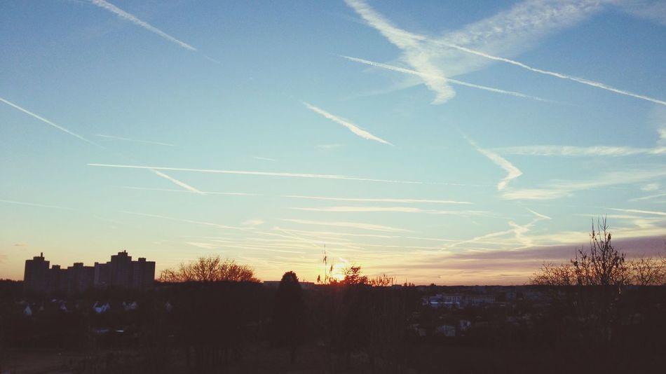 Wetterpark Blue Sky Sunset Offenbach Am Main Smartphonephotography Landscape Enjoying The View Great Views