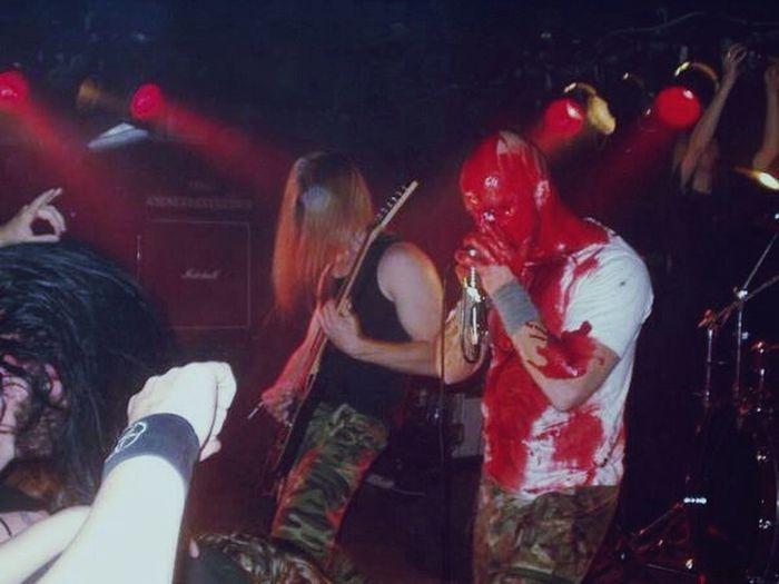 Performance Inbattle Death Metal Live Music BLOODY Blood Black Metal Odhinn Norrland Enjoying Life In Battle