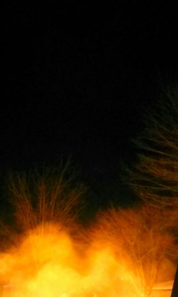 winter collection Black Background Flame Burning Abstract Night Glowing Heat - Temperature