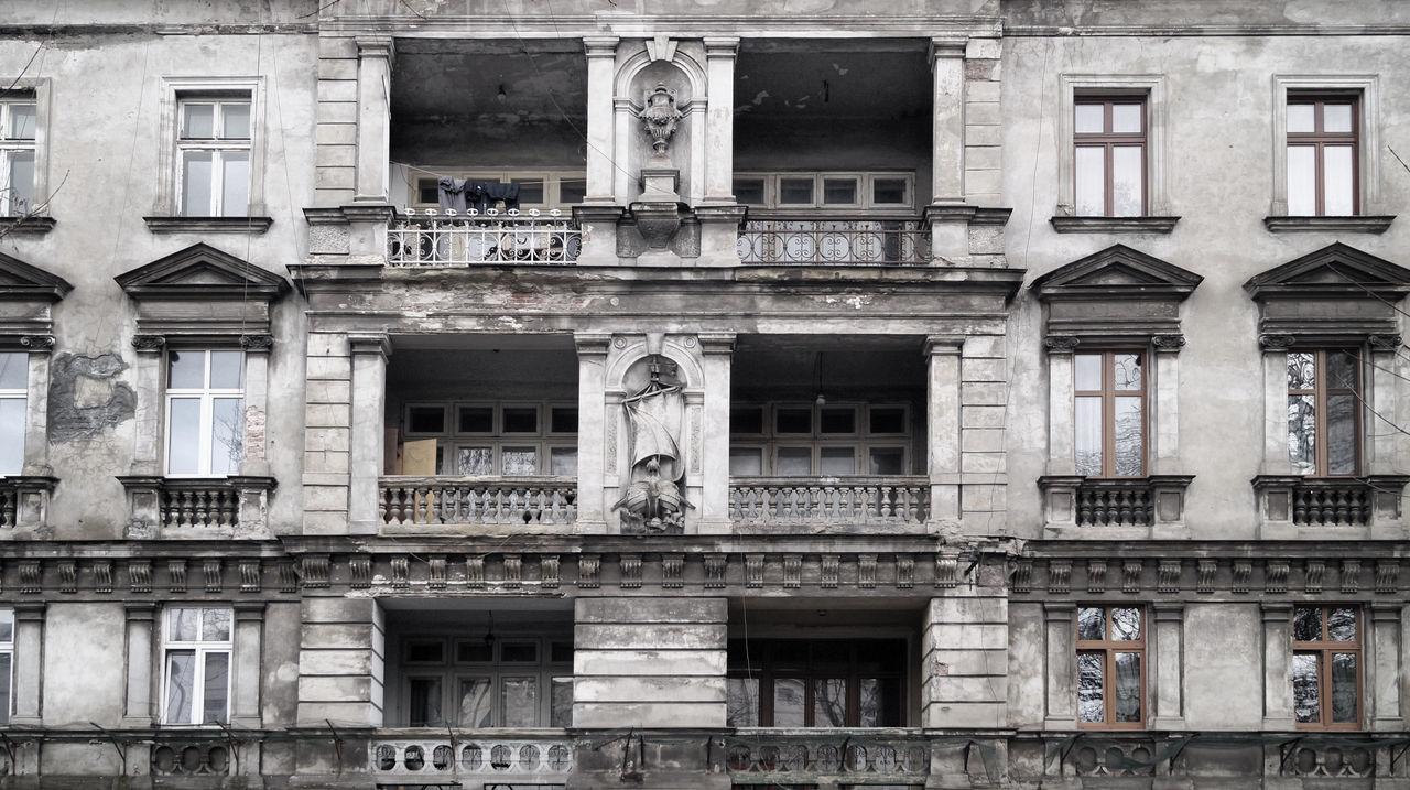 Architecture Balcony Building Exterior Built Structure Tenement Houses Window Windows