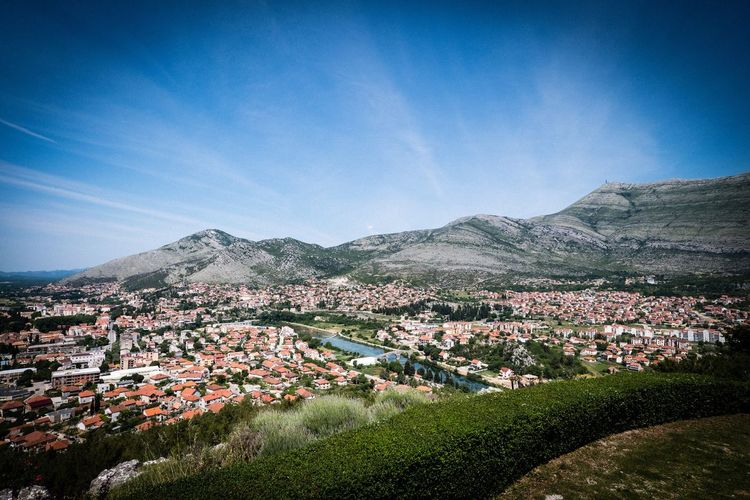 Trebinje Trebinje Mountain Scenics - Nature Sky Landscape Beauty In Nature Land Environment Nature Architecture