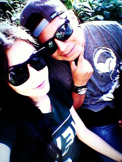 Teamoclelian❤ Love♡ Taking Photos Enjoying Life Nice! Relaxing Naturaleza Chris & Clelian Happy :) Juntos 💜