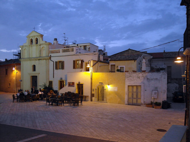 Cathedral square of Termoli Church Square Termoli  Architecture Bar Building Exterior Built Structure Historical Center Illuminated Italy Molise Night Outdoors Residential Building Sky Sunset Termoli City Travel Destination Urban Landscape Urban Skyline