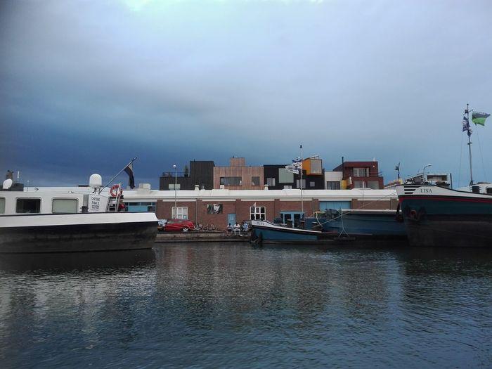 Water Nautical Vessel No People Boats Havenkwartier NoEditNoFilter EyeEmNewHere