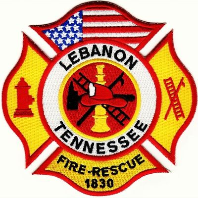 LEBANON FIRE DEPARTMENT Insta_exploring Instatennessee USA Tennessee Lebanon Home_sweet_home Flag Patch MY_CAREER