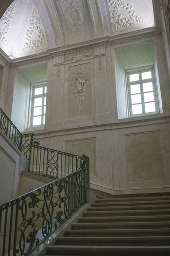 CARDITELLO Royal Palace Of Carditello Architecture Bourbons Built Structure Day Hand Rail Indoors  Low Angle View No People Railing Stairs Steps Window