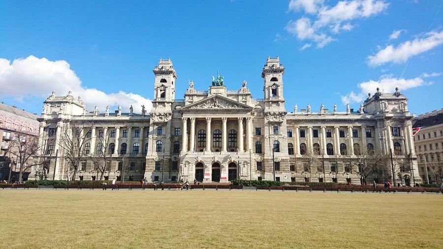 Budapest, Hungary Néprajzi Múzeum Architecture Sky Day Outdoors Beautiful Built Structure Tourism Panoramic