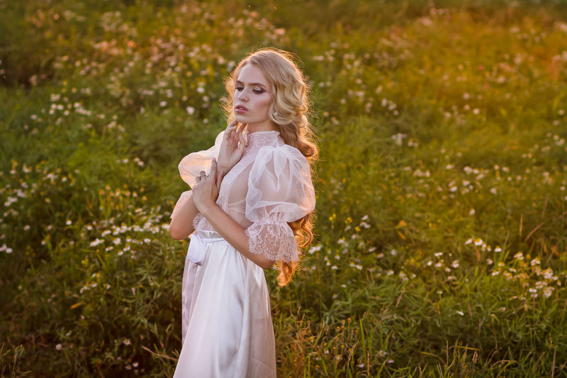 Bestselling Photos Blond Hair Bridge Editorial  Editorial Fashion Editorialphotography Nature Portrait Summer Summertime Sunset Sunset_collection Wedding Wedding Photography White Dress Cover Book Cover Magazine Cover
