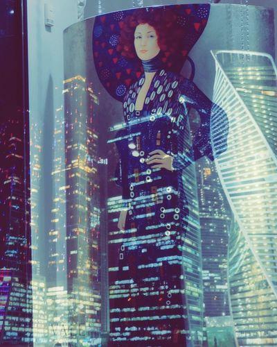 коренная москвичка - ускользающий тип ассоциации Moscow City