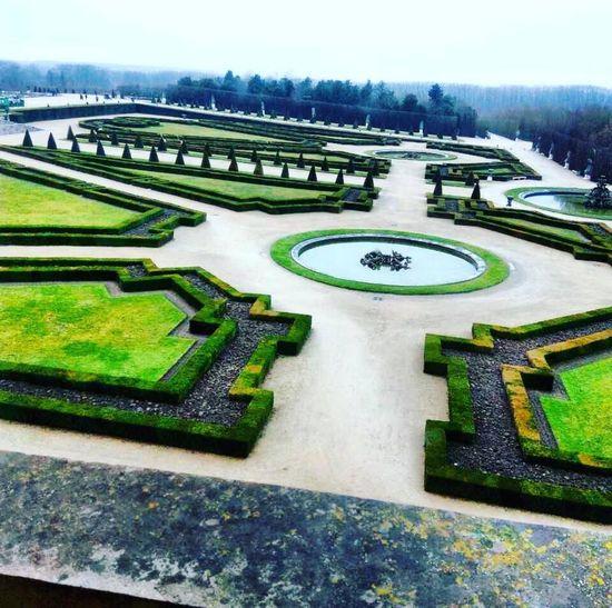 Versailles Garden Garden Photography Garden Flowers Frenchgarden Water Maze Sand Trap Sky Green Color Grass Architecture