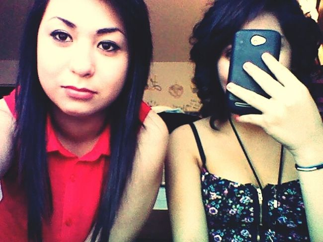 Lmao my serious face xD lol & my baby chickys <3