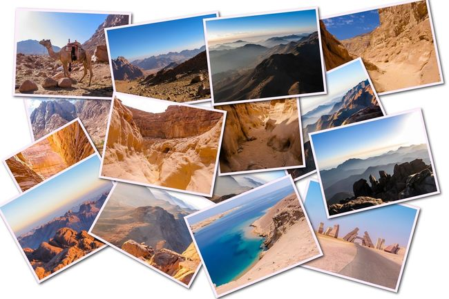 Egypt pictures collage of different famous locations landmark of Sinai Peninsula, Africa. Collage Collages Egypt Landmarks Ras Mohammed Sinai Peninsula Aerial View Allah Door Backgrounds Beach Close-up Day Desert Beauty Egyptian Isolated White Background Landmak Location Mountain Multiple Image Nature No People Outdoors Photograph Photography Themes Sea Sinai Sinai Egypt Sky Travel Destinations Vacations White Background