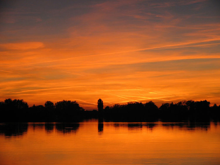Sonnenuntergang Beauty In Nature Lake Nature One Person Orange Color Outdoors People Reflection Scenics Silhouette Sky Sonnenuntergang Im Sommer Sunset Tranquil Scene Tranquility Tree Water
