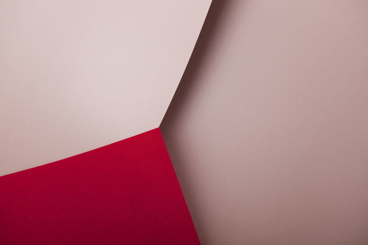 abstract, background, beige, corner, curves, edge, edgy, geometry, illusion, lilac, lines, minimalism, optical illusion, paper, pink, purple, red, sharp, structure, wall, website, white, triangle, Abstract Abstract Backgrounds Beige Beige Background Corner Curves Edge Edgy Geometry Geometric Shape Geometrical Illusion Red Paper Sharp Harmony Composition Website Background Triangle Triangle Shape Paperwork Empty No People Indoors  Copy Space Close-up Backgrounds High Angle View Full Frame White Color Simplicity Cardboard Still Life Studio Shot Open Pattern Textile Shadow Blank Event Optical Illusion