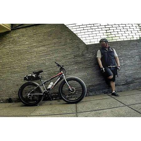 Let's go bike to work Bicycle Fatbikes Fatbikes Biketowork val 2015 gopro gopro3plus goproblackedition gopro_everything gopro_4life gopro_moment