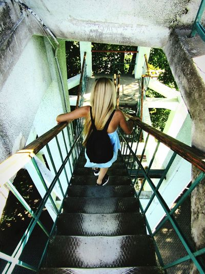 Pleasefollowme Oldbuildings Viewpoint Trip Forest Welcomeweekly Todayphotography Theway Thisway Down Downstairs Height Eye4photography  EyeEm Best Shots - Nature Eyeemnaturelover Eyeemcollection Blondehairdontcare Hungariangirl Romania RomaniaIsAmazing
