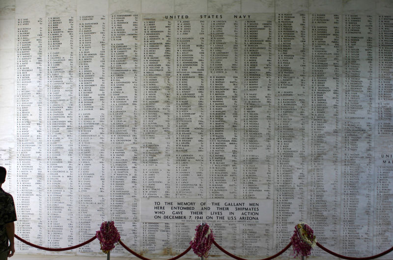 Hawaii Memorial National Park Pearl Harbor Memorial Tourist Historic No People Tourism Tourist Destination