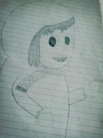 Boring... My Draw ♥ I Draw Like A Child Haha!